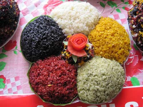 Gioi thieu ve dac san xoi xeo am thuc dac sac cua dan toc thai Tuan Giao Giới thiệu về đặc sản xôi xéo ẩm thực đặc sắc của dân tộc Thái Tuần Giáo