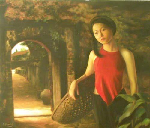 van mau cam nhan ve phu nu viet nam qua van tho xua Cảm nhận về hình ảnh người phụ nữ Việt Nam qua văn thơ xưa
