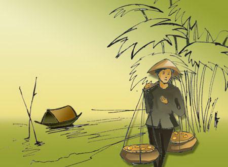 """van mau phan tich bai tho thuong vo cua tran te xuong Phân tích """"Thương vợ"""" của Trần Tế Xương"""