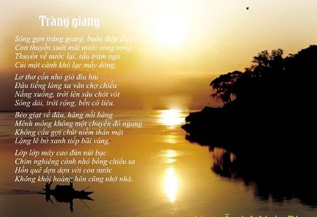 """van mau phan tich ve dep co dien ma hien dai trong bai tho trang giang cua huy can Phân tích vẻ đẹp cổ điển mà hiện đại trong bài thơ """"Tràng Giang"""" của Huy Cận"""