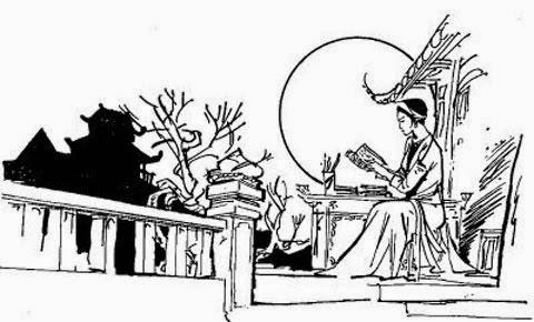 van mau gia tri nhan van trong tinh canh le loi cua nguoi chinh phu Giá trị nhân văn trong Tình cảnh lẻ loi của người chinh phụ