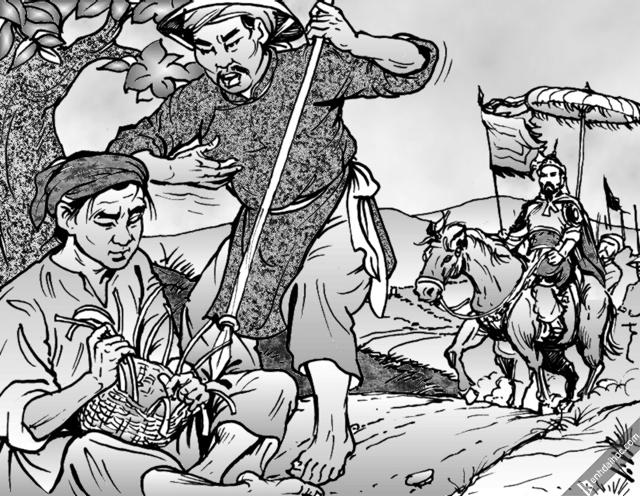 """van mau phan tich bai tho to long cua pham ngu lao - Phân tích bài """"Tỏ lòng"""" của Phạm Ngũ Lão"""