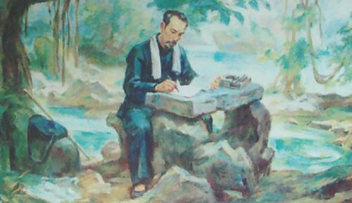 van mau suy nghi cua em ve thu lam tuyen trong bai tho tuc canh pac bo cua ho chi minh Suy nghĩ của em về thú lâm tuyền trong bài thơ Tức cảnh Pác Bó của Hồ Chí Minh