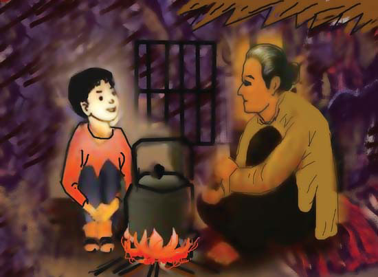 van mau tinh nguoi trong bai tho bep lua cua bang viet Tình người trong bài thơ Bếp Lửa của Bằng Việt