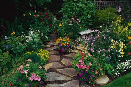 ta khu vuon buoi sang Tả cảnh khu vườn vào xuân