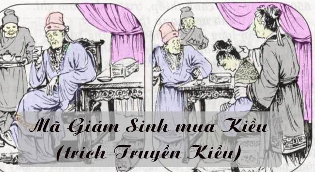 soan bai ngu van lop 9 ma giam sinh mua kieu trich truyen kieu Soạn bài lớp 9: Mã Giám Sinh mua Kiều