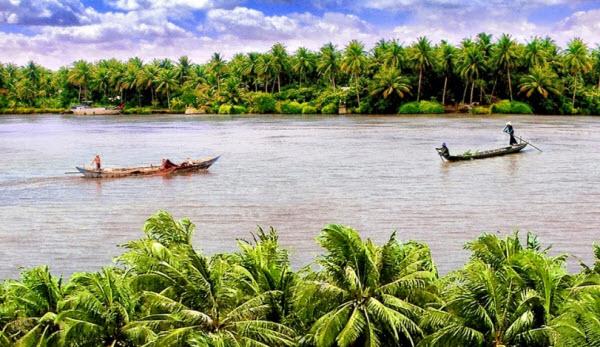 Tả dòng sông lớp 2, bài văn miêu tả con sông quê em ngắn gọn